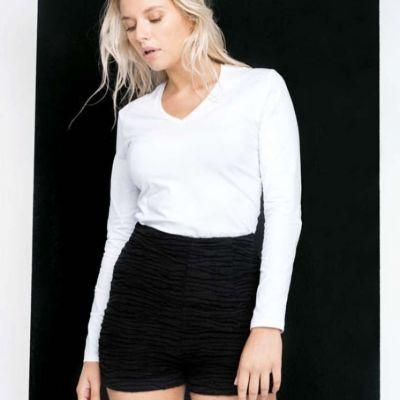 Bluza / tricou dama cu maneca lunga si anchior